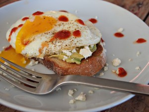 My Kitchen Love - spicy fried egg