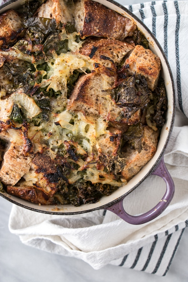 Cheesy Kale Stuffing