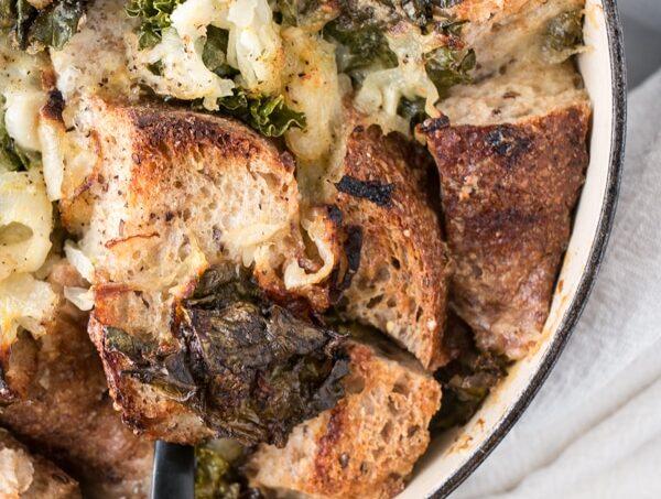 Cheesy Kale Stuffing