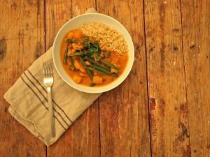 My Kitchen Love Blog - Chicken and Squash Curry