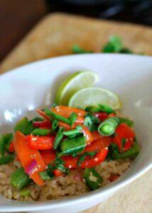 My Kitchen Love Blog - Cilantro Lime Veg Picture 01