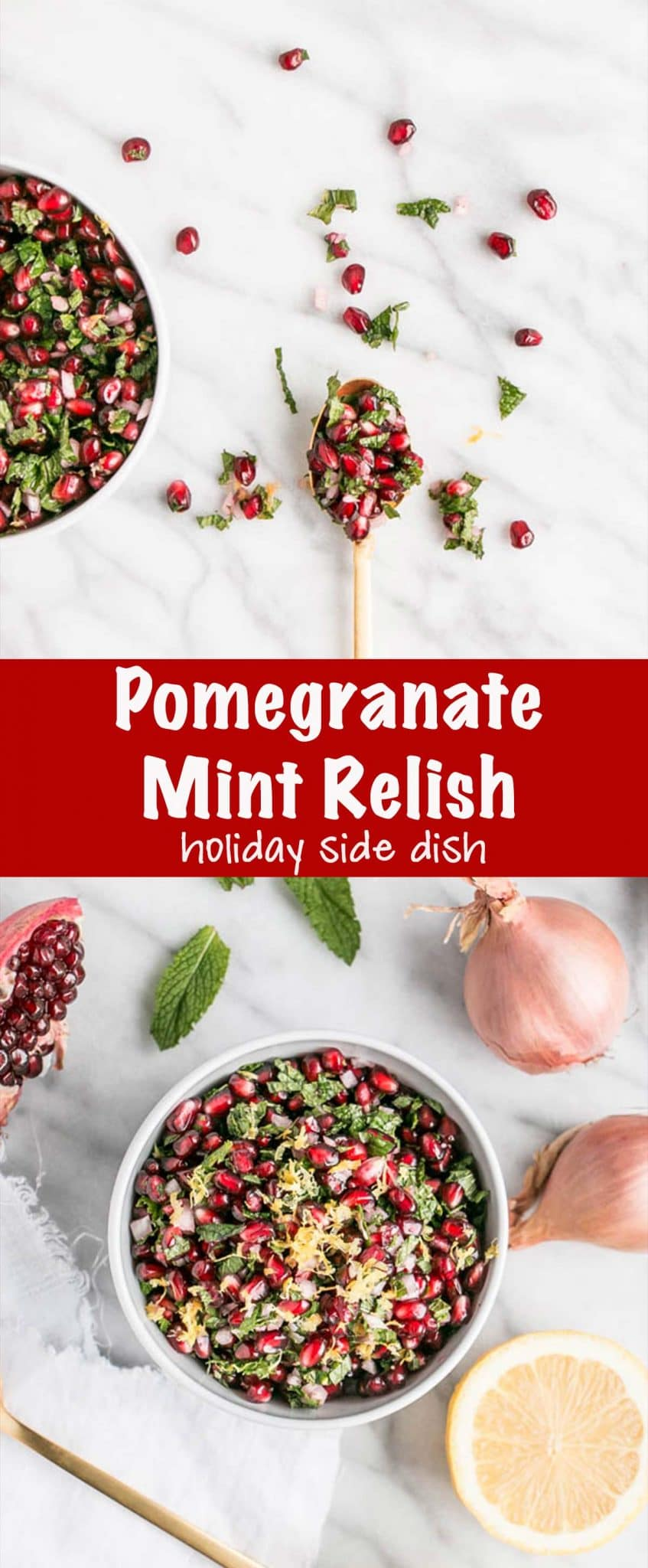 Pomegranate Mint Relish Long Pin