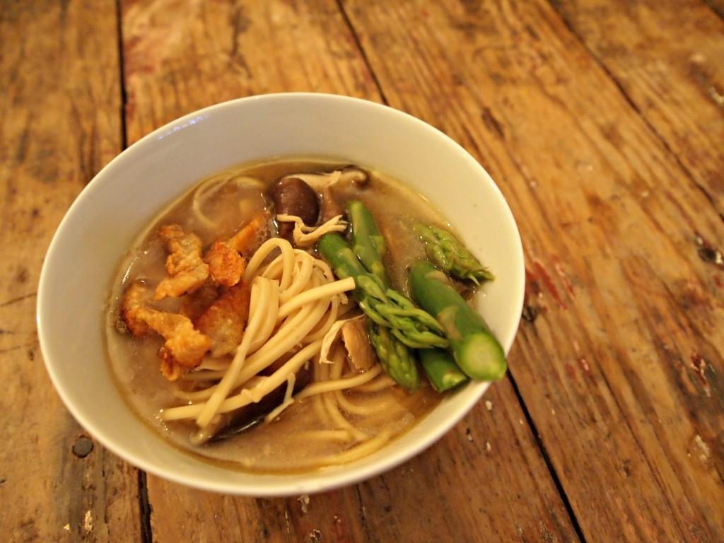 Chicken Miso Noodle Soup