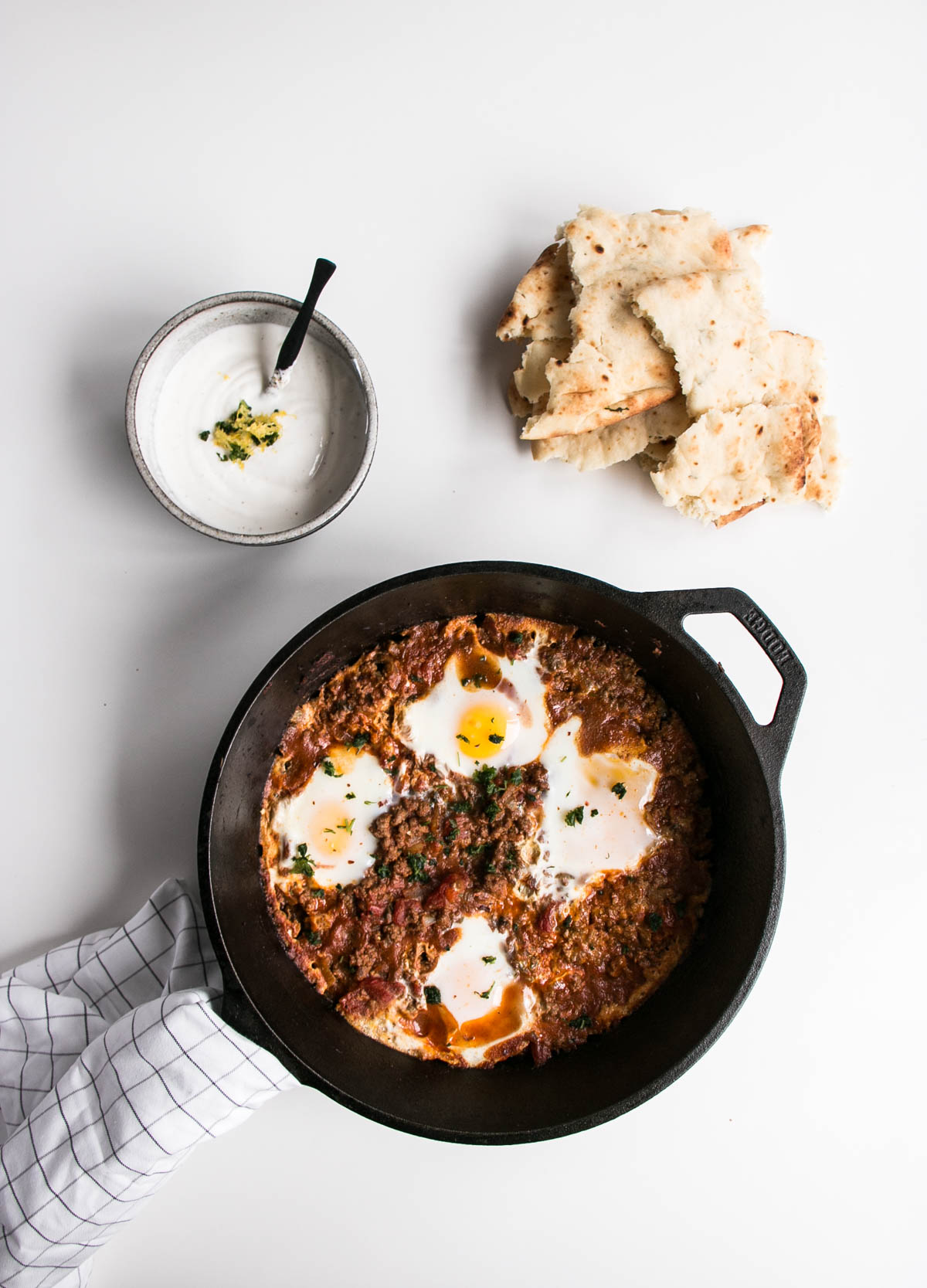 Iraqi eggs with lamb and tomatoes my kitchen love forumfinder Choice Image