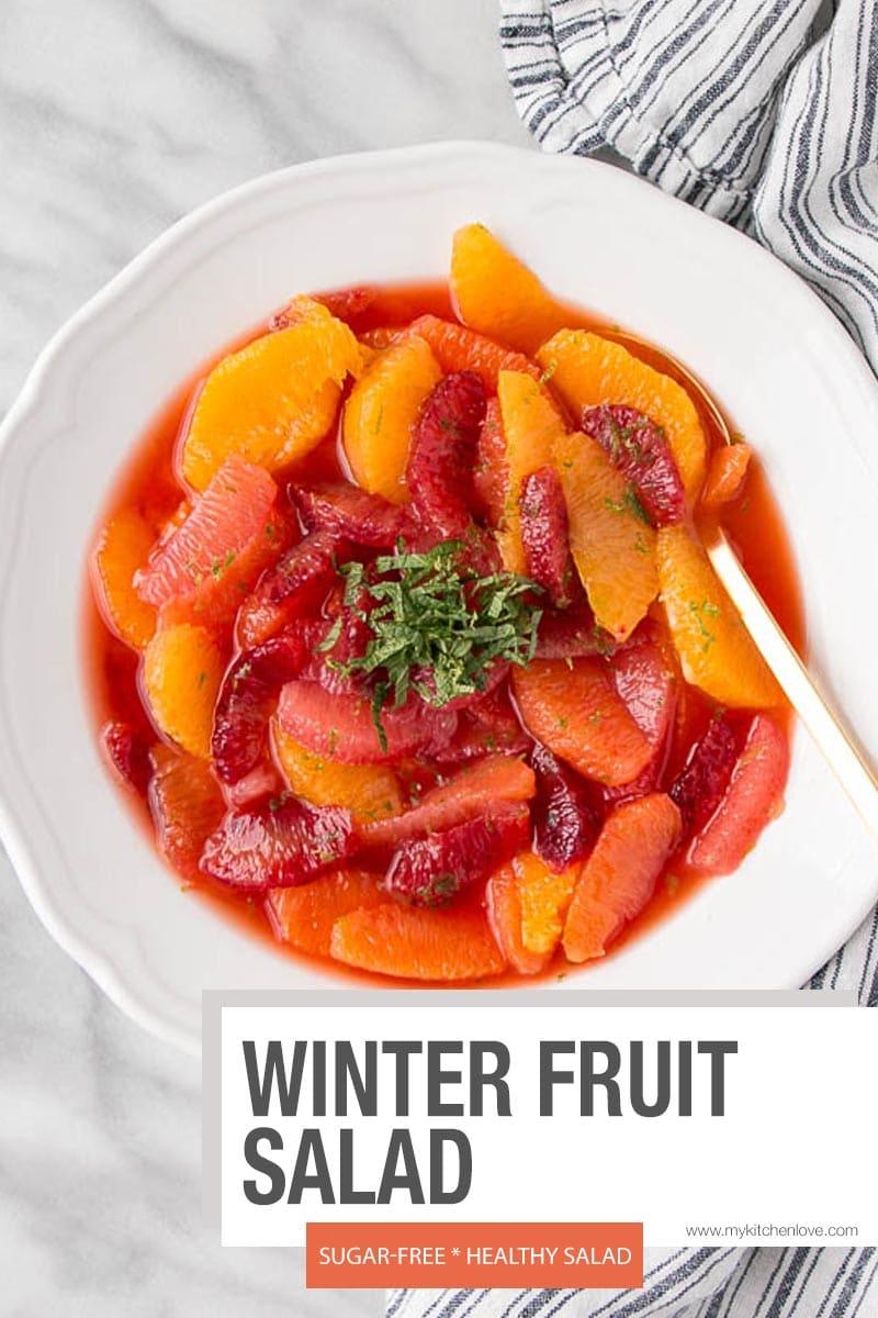 Winter Fruit Salad - short pin