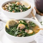 Italian Sausage, Kale, and Potato Soup (aka James' Soup)