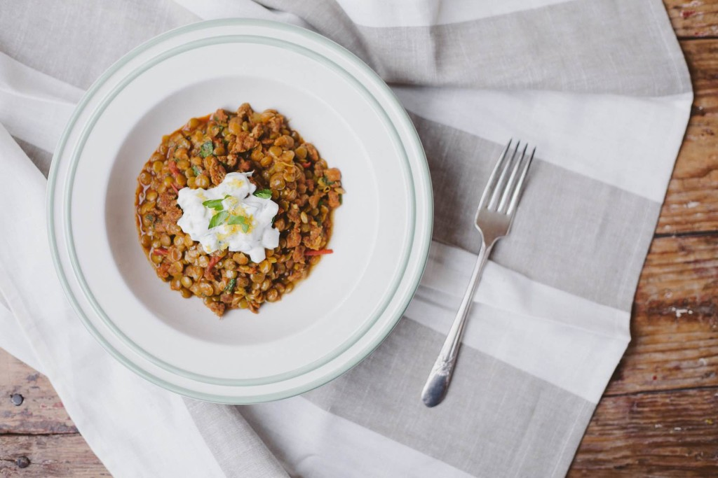 Moroccan Lentil Risotto | My Kitchen Love