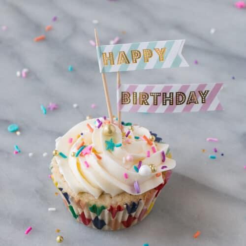Momofukus Milk Bar Birthday Cupcakes