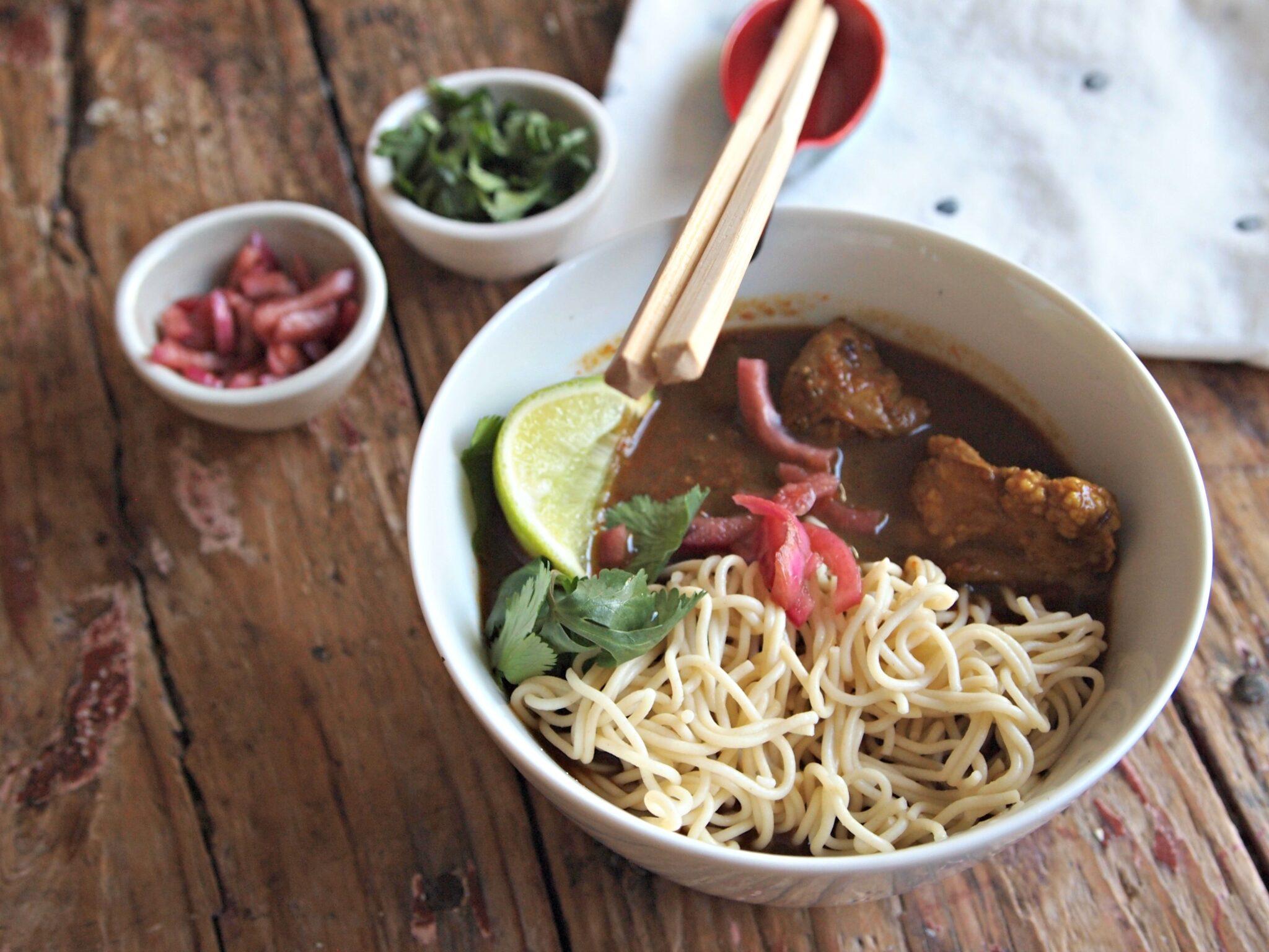 My Kitchen Love - Thai Noodle Soup