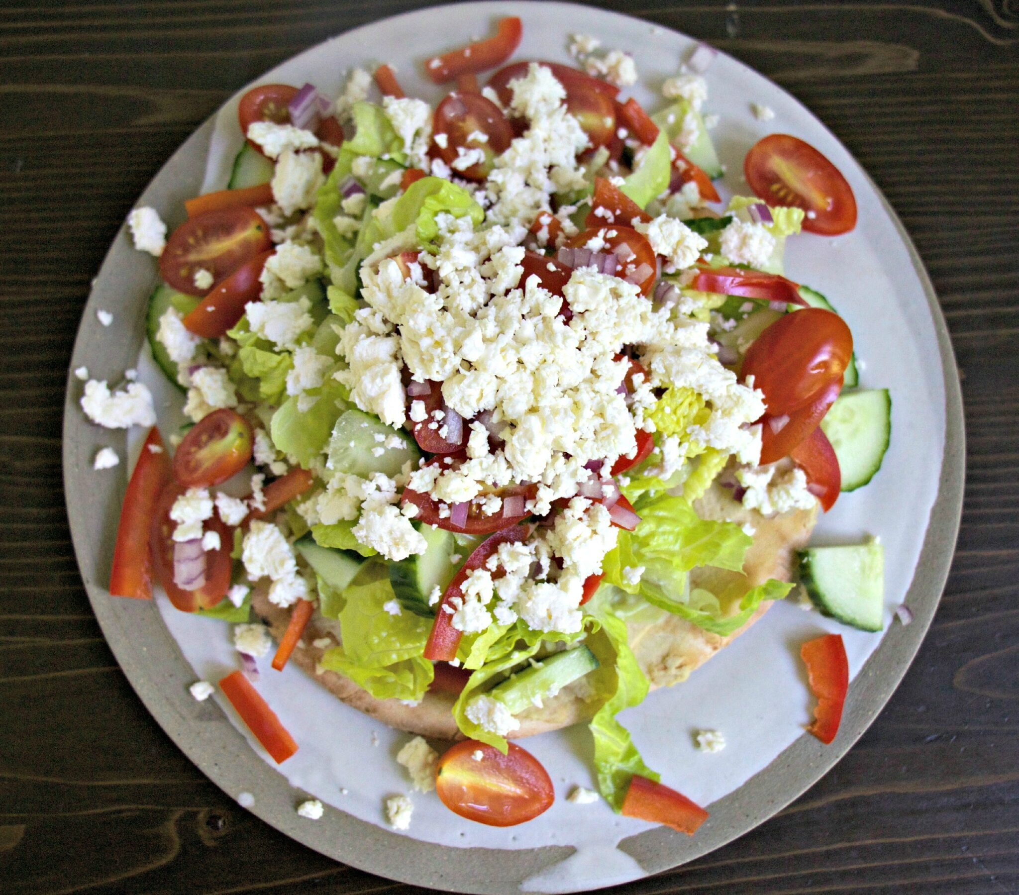 Pita Salad - My Kitchen Love