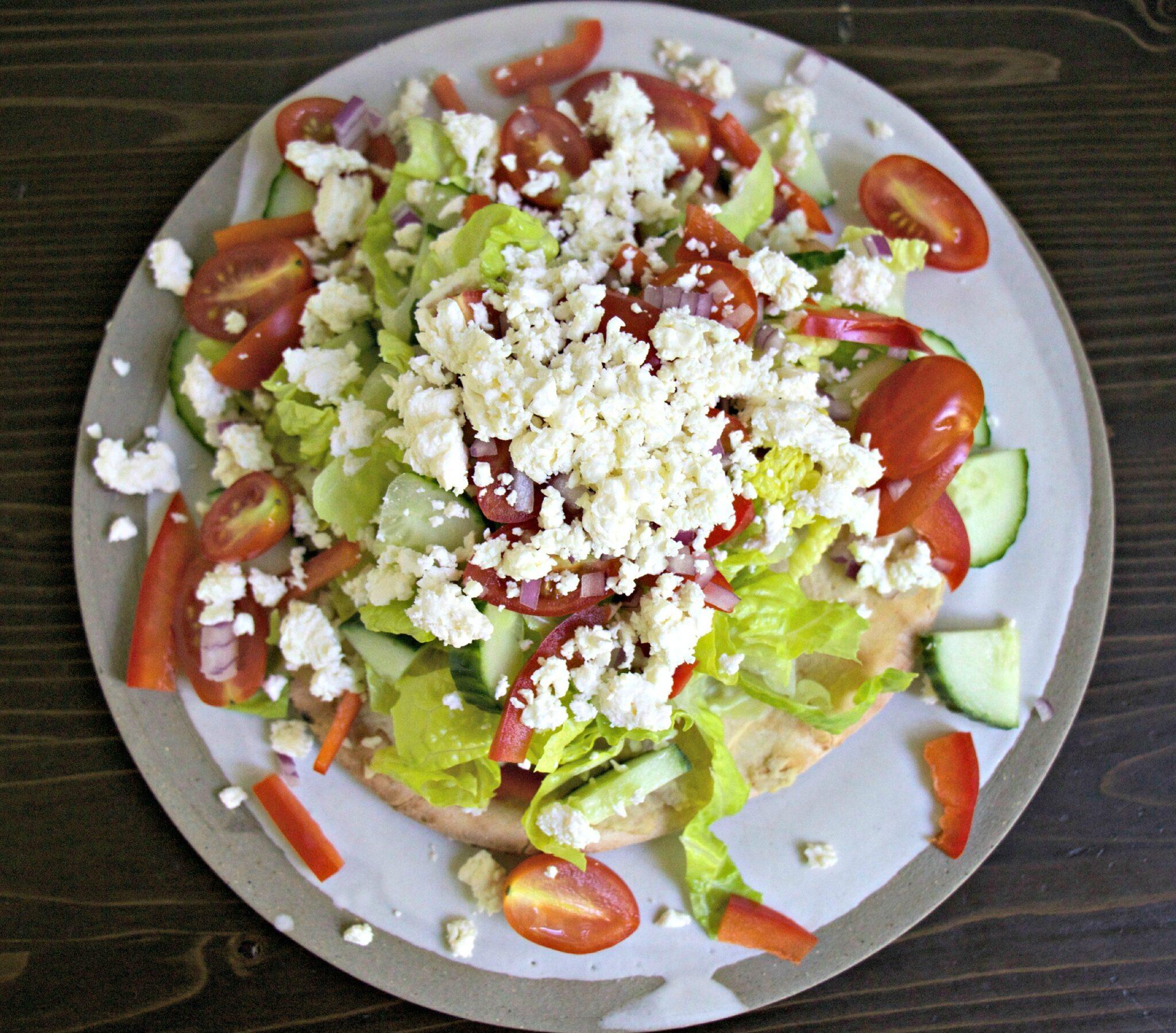 Pita Salad - My Kitchen Love
