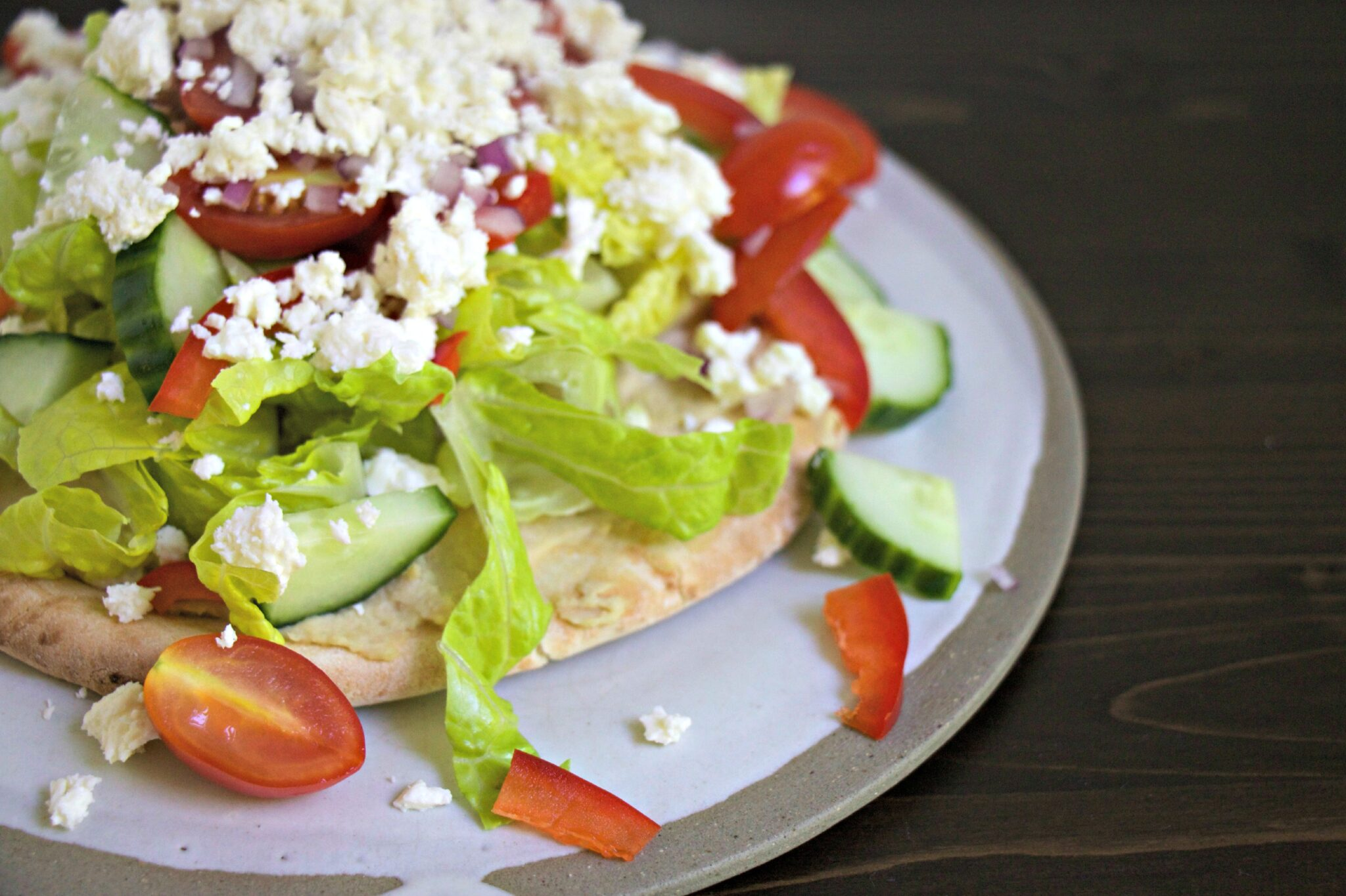 Pita Salad - My Kitchen Love Blog