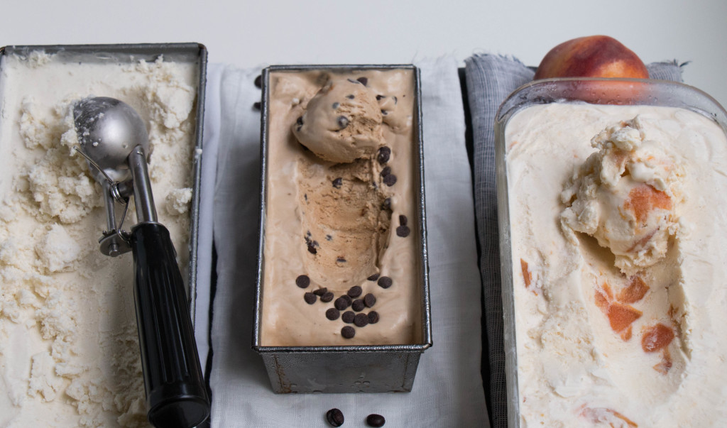 No Churn Ice Cream 3 Ways