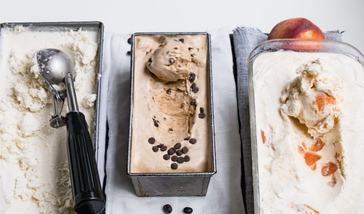 No Churn Ice Cream 3-Ways