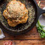Brown Butter Cauliflower with Garlic Breadcrumbs