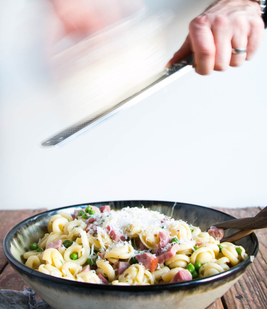 Back to Basics with Pasta and Peas