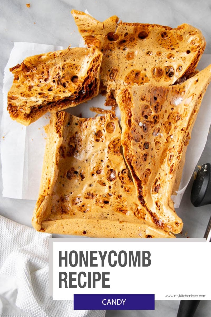 Honeycomb Recipe Short Pin