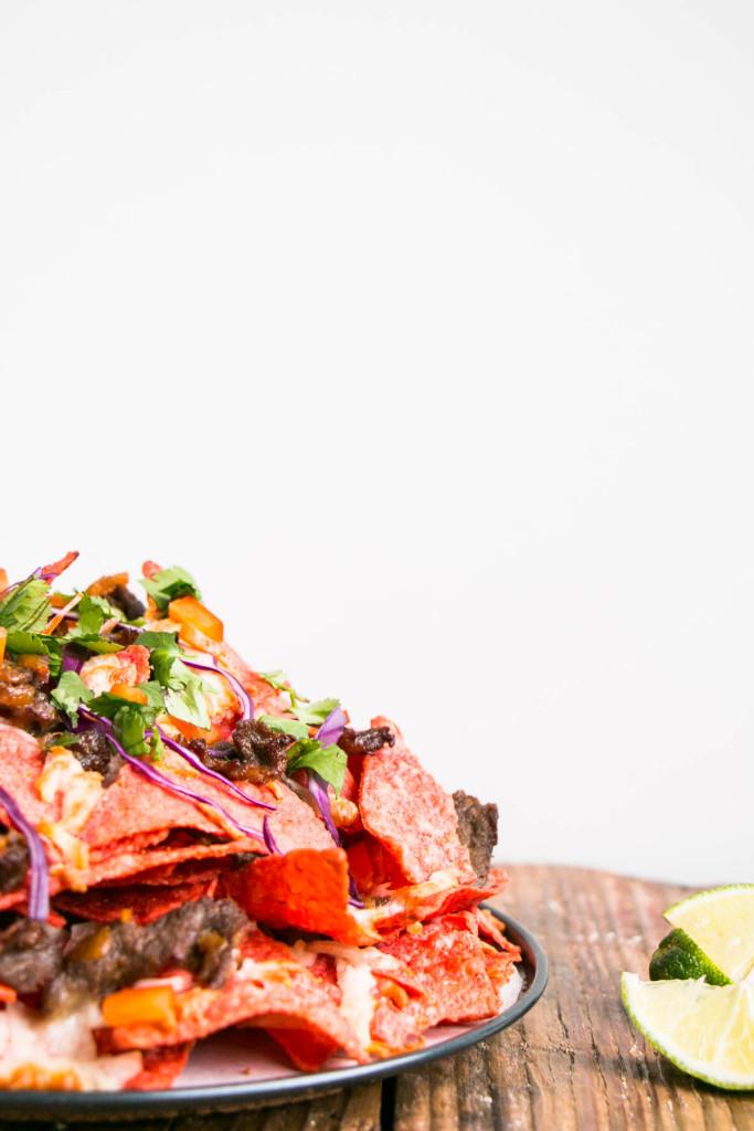 Loaded Korean Nachos | My Kitchen Love