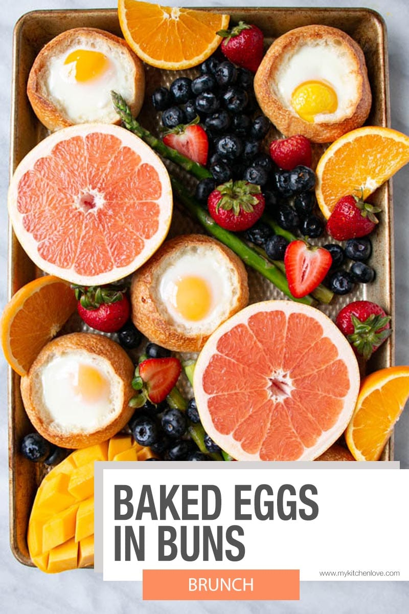 Baked Eggs in Buns Short Pin