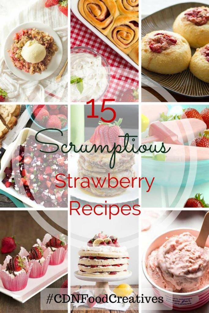 Cdn Food Creative Strawberry Recipes | My Kitchen Love