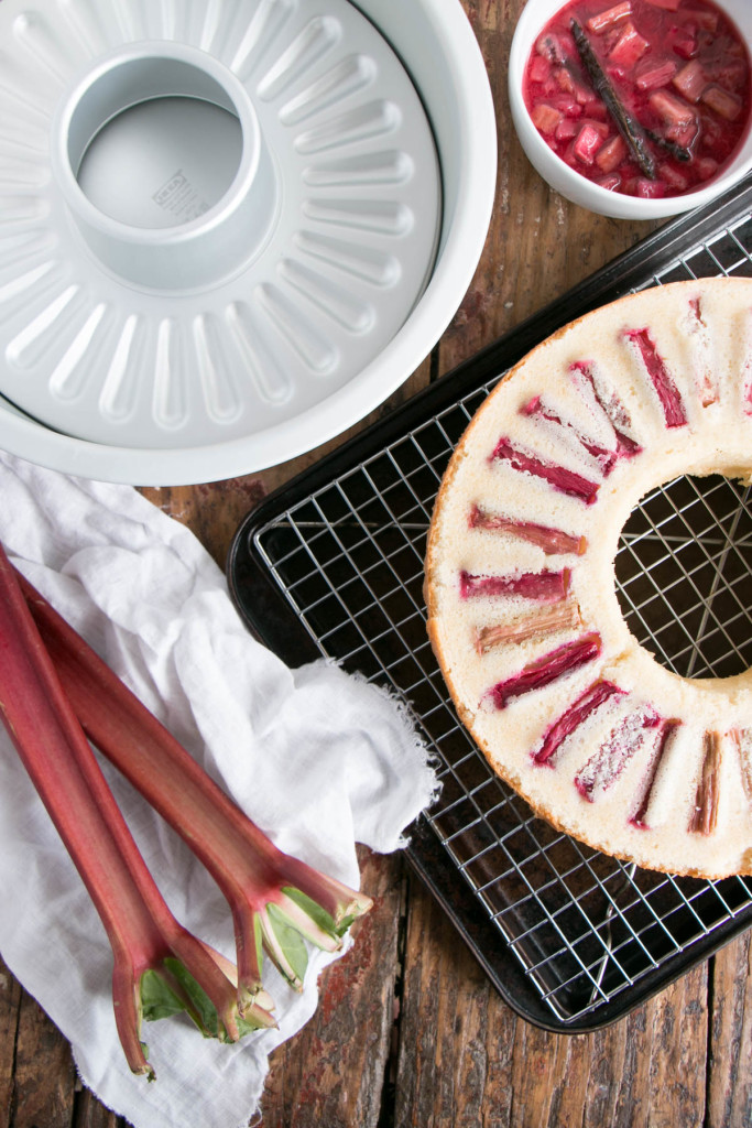 Vanilla Rhubarb Bundt Cake | My Kitchen Love