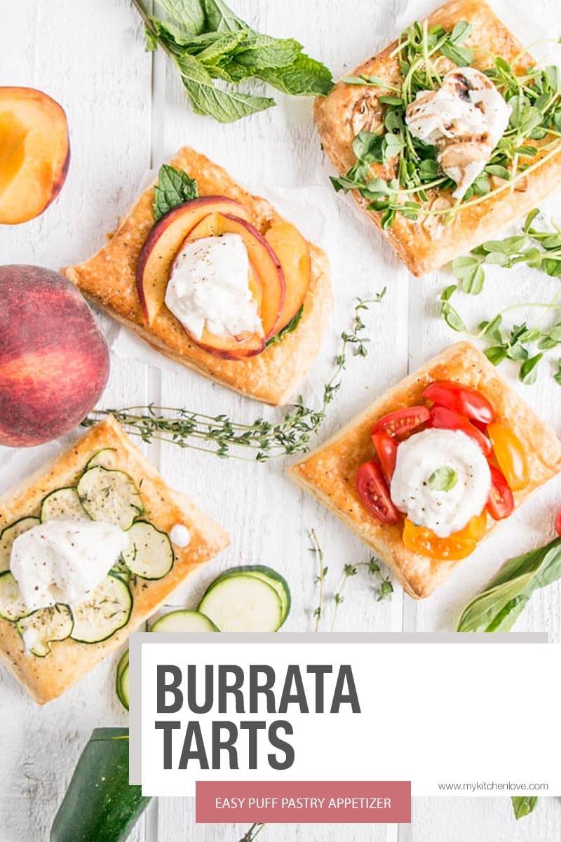 Burrata Tarts Short Pin