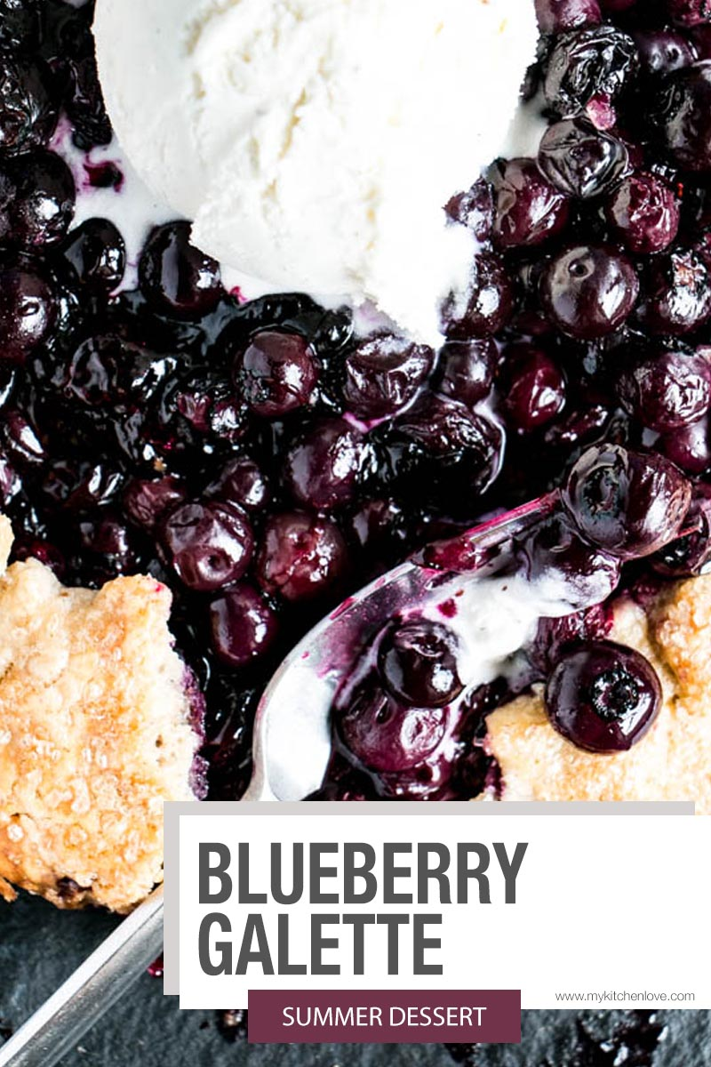 Blueberry Galette Short Pin