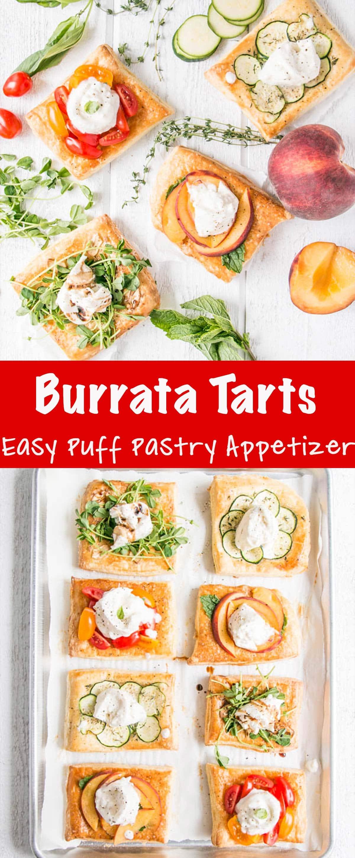 Burrata Tarts Long Pin