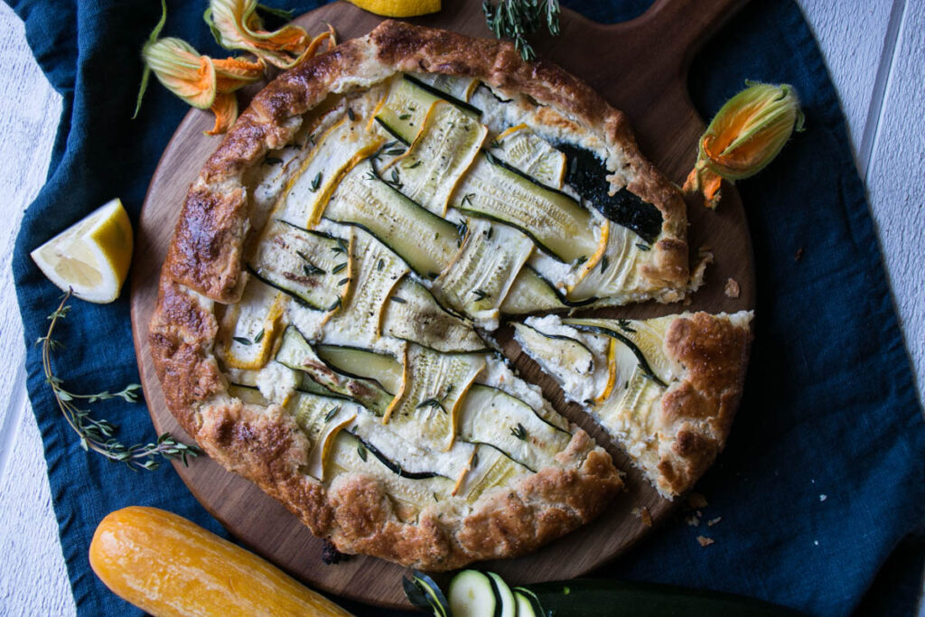 Zucchini and Thyme Galette