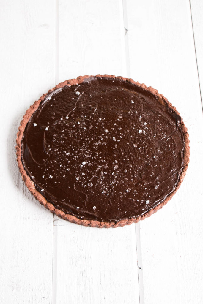 Cookbook Club - Salted Chocolate Caramel Tart | My Kitchen Love