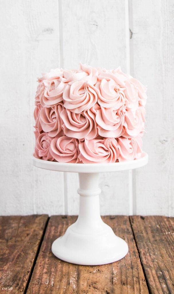 recipe: ombre rosette cake recipe [25]