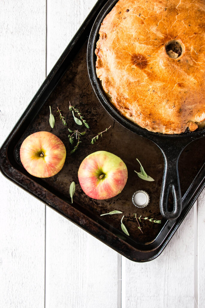 In Crust We Trust – Pork, Apple and Ale Pie