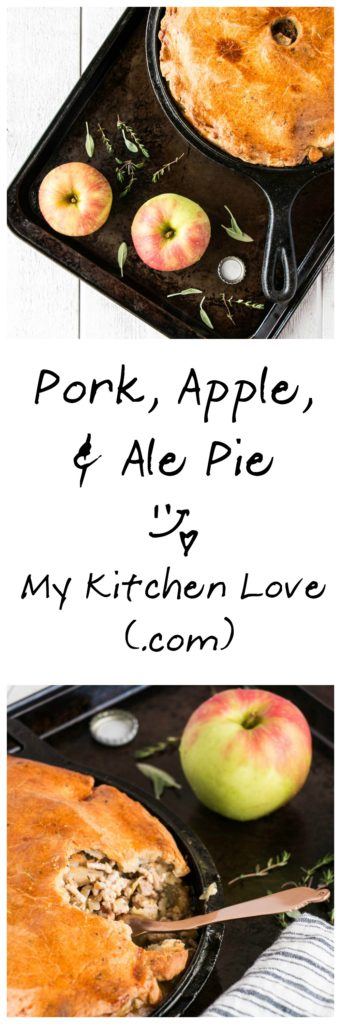 Pork, Apple & Ale Pie | My Kitchen Love