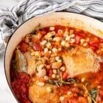 Roasted Chicken Minestrone Soup Recipe