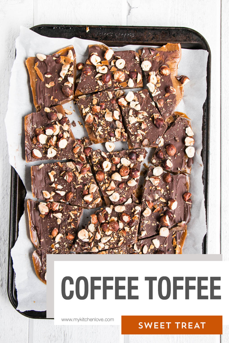 Coffee Toffee Short Pin