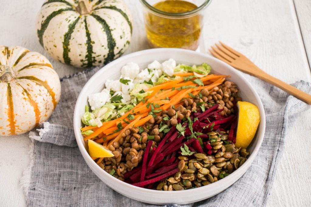 Fall Lentil Salad   My Kitchen Love