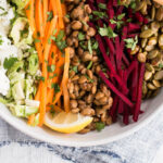 Fall Lentil Salad with a Lemon-Shallot Dressing