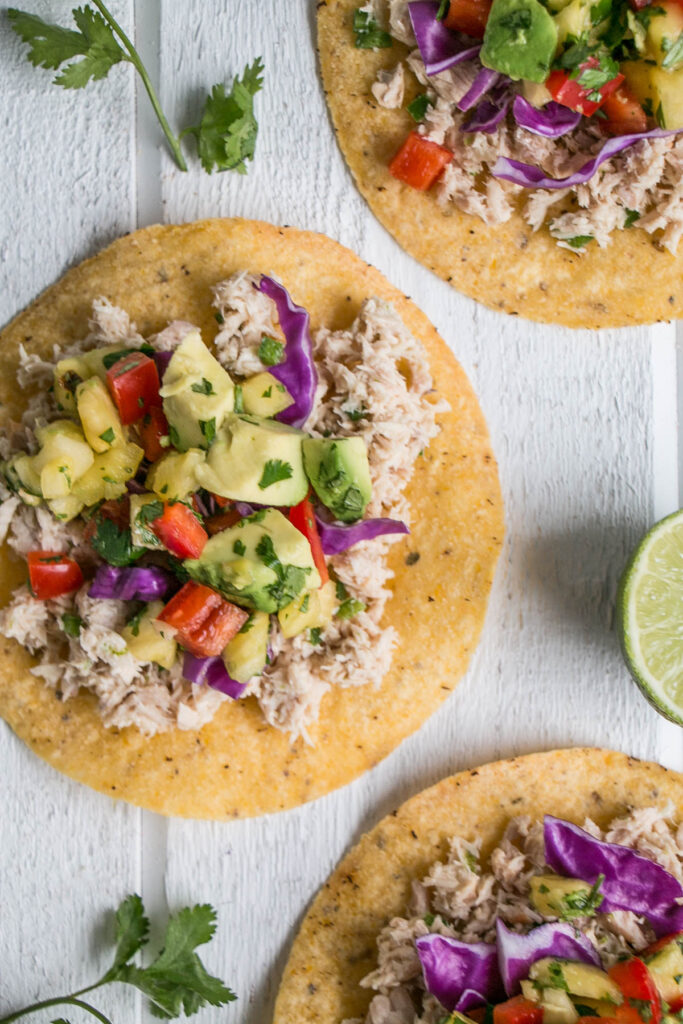 Spicy Tuna Tostadas | My Kitchen Love