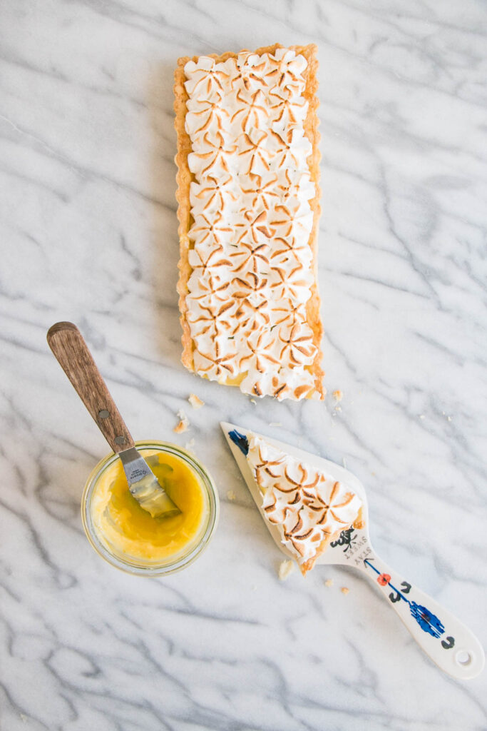 Lazy Girl's Meyer Lemon Meringue Tart