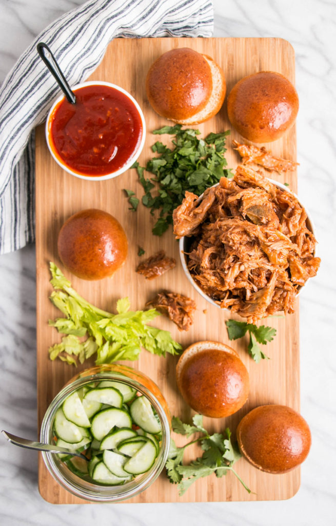 Slow Cooker Korean Sliders | My Kitchen Love