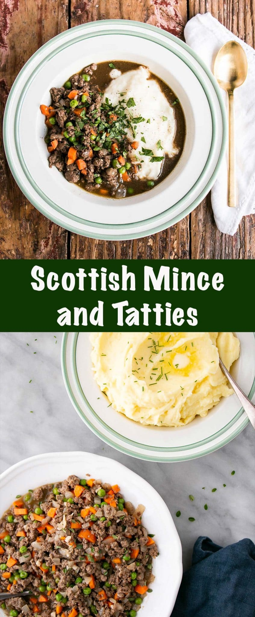 Scottish Mince and Tatties Long Pin