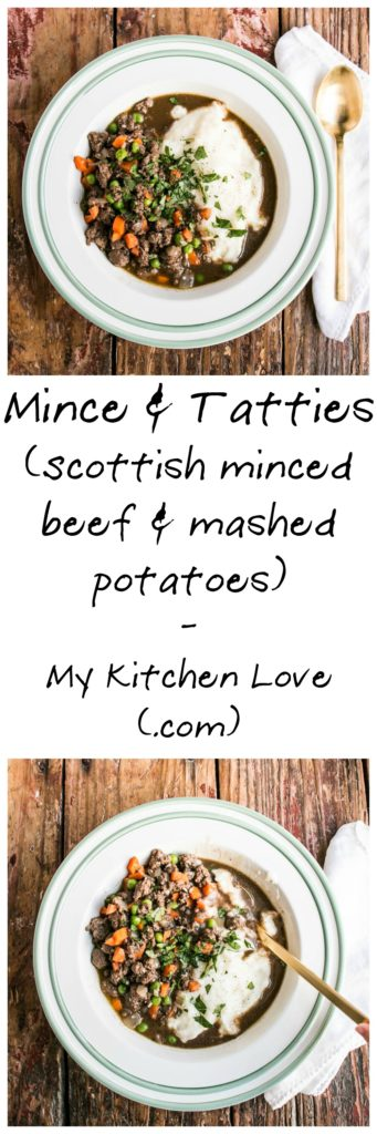 Scottish Mince and Tatties | My Kitchen Love