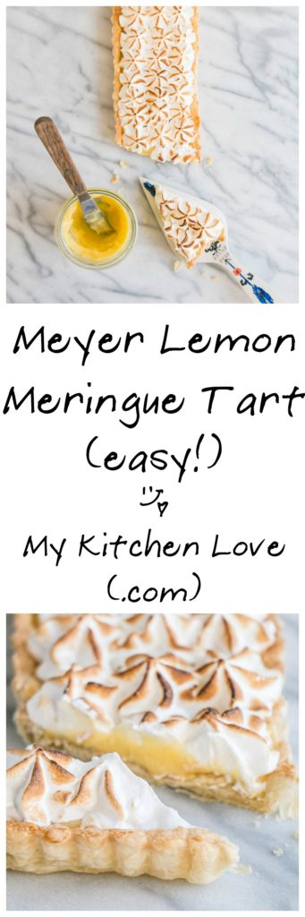 Meyer Lemon Meringue Tart | My Kitchen Love