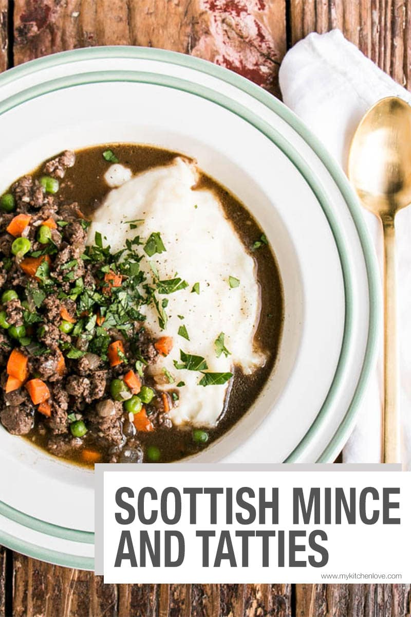 Scottish Mince and Tatties Short Pin
