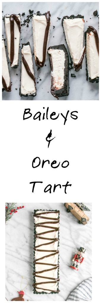 Baileys and Oreo Tart | My Kitchen Love