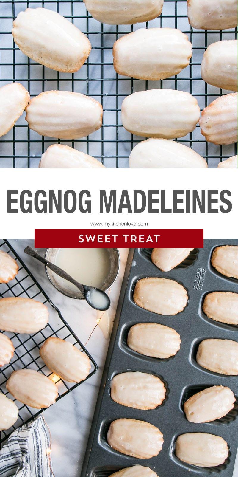 Eggnog Madeleines Long Pin