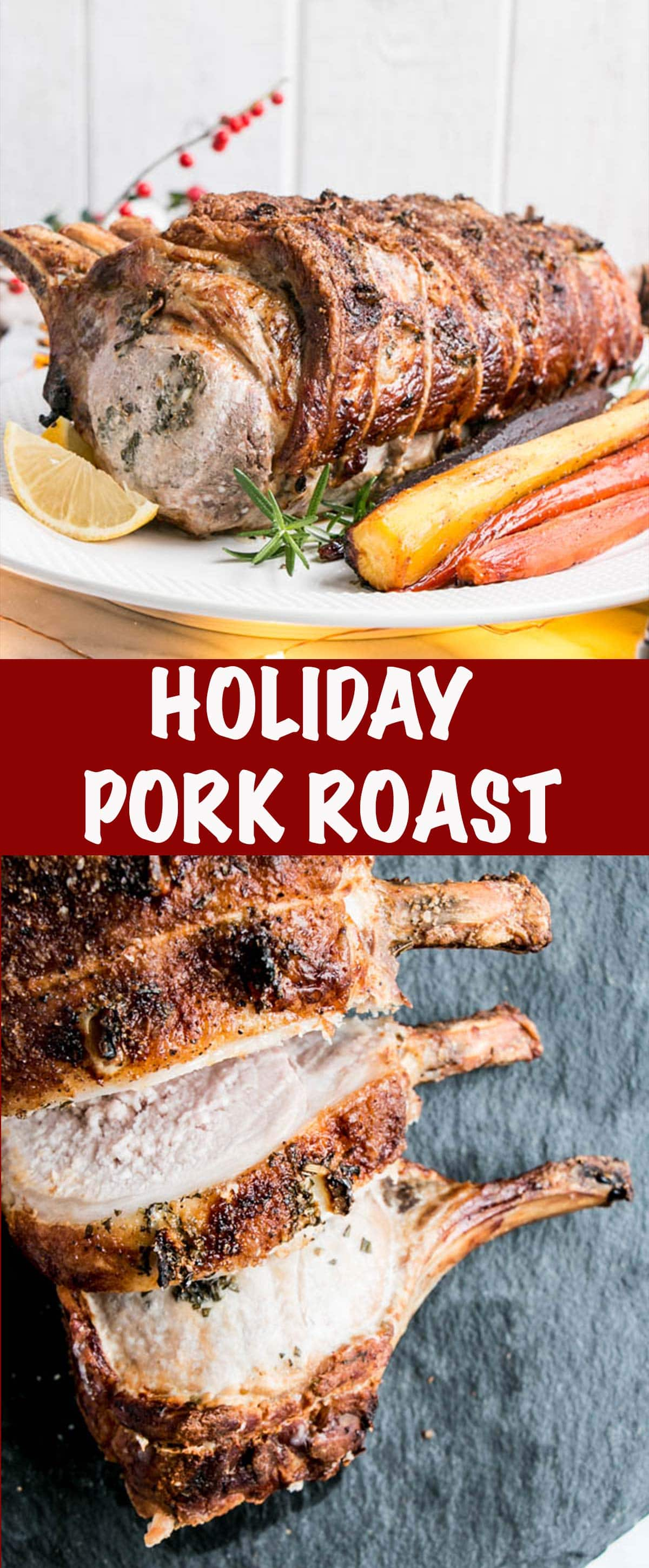 Holiday Pork Roast - Long Pin