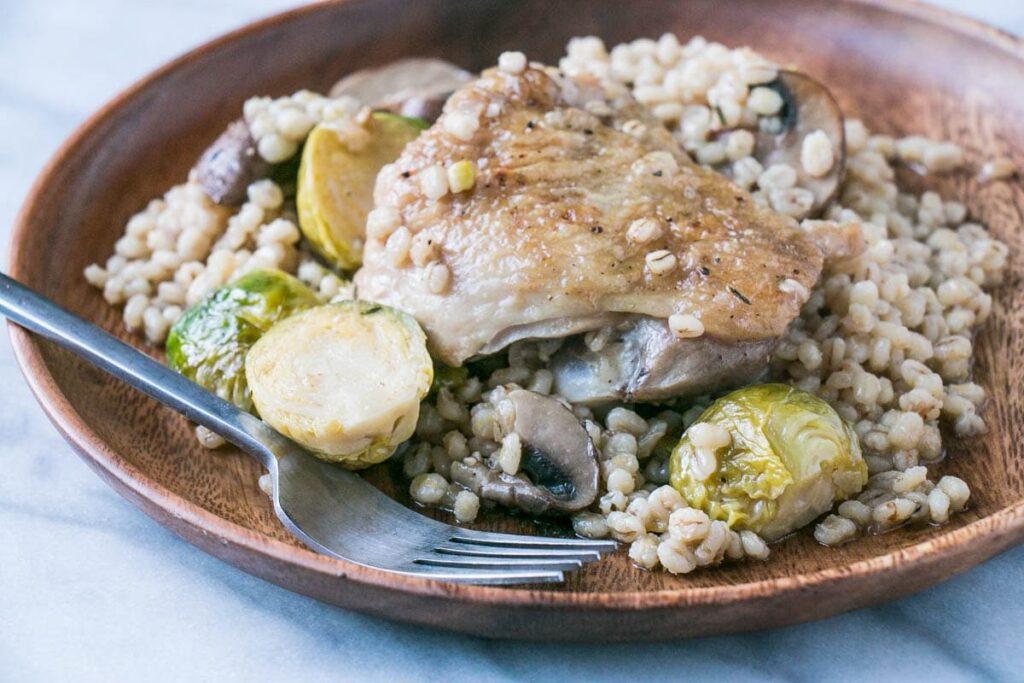 One Pot Chicken, Barley and Veg | My Kitchen Love