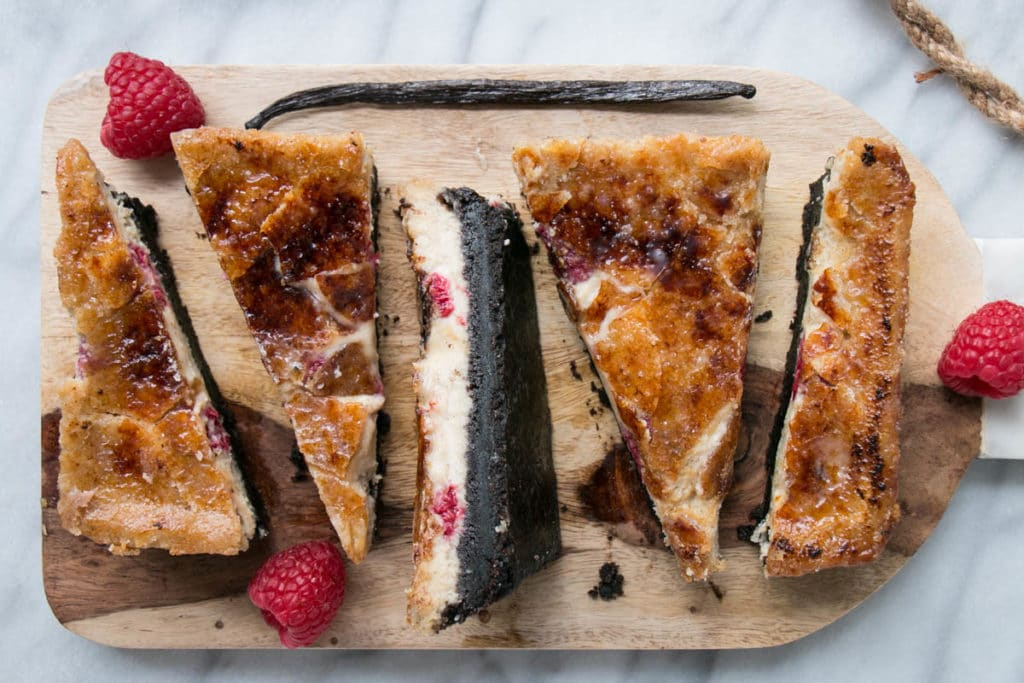 Black Bottom Raspberry Vanilla Crème Brûlée for 2   My Kitchen Love
