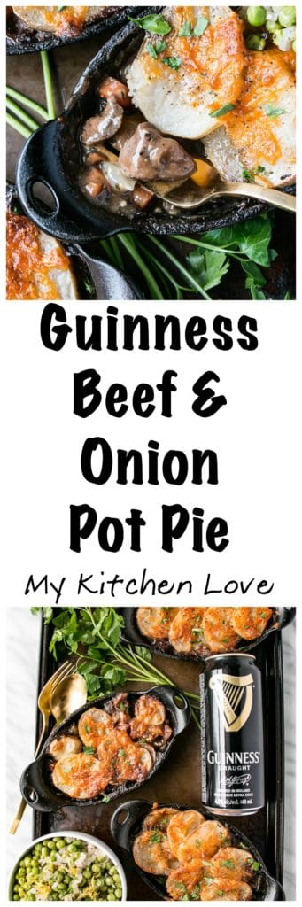 Guinness Beef & Onion Pot Pie |